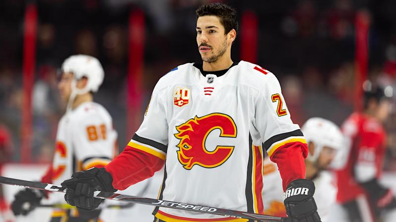 Travis Hamonic is the most notable name to opt out of the NHL restart. (Photo by Richard A. Whittaker/Icon Sportswire via Getty Images)