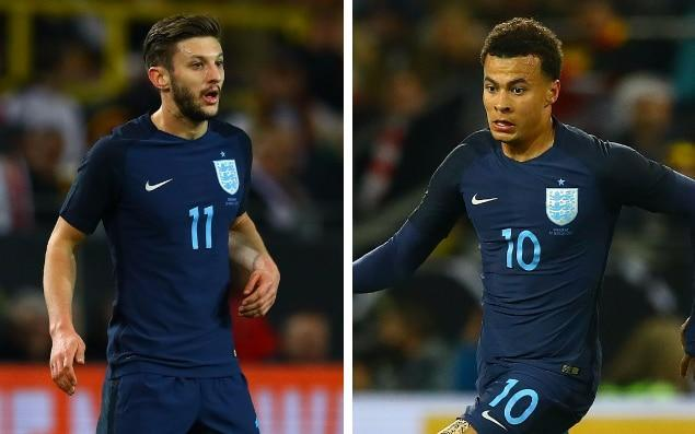 Adam Lallana and Dele Alli are leading England's new attacking threat - rex