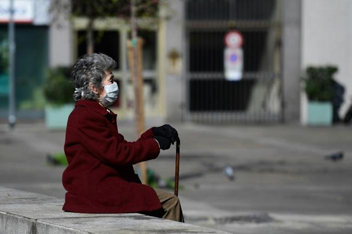 While Italy is a country of seniors, very few of them live in retirement homes (AFP Photo/Miguel MEDINA)
