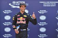 Ricciardo secures his maiden F1 pole and tactical advantage
