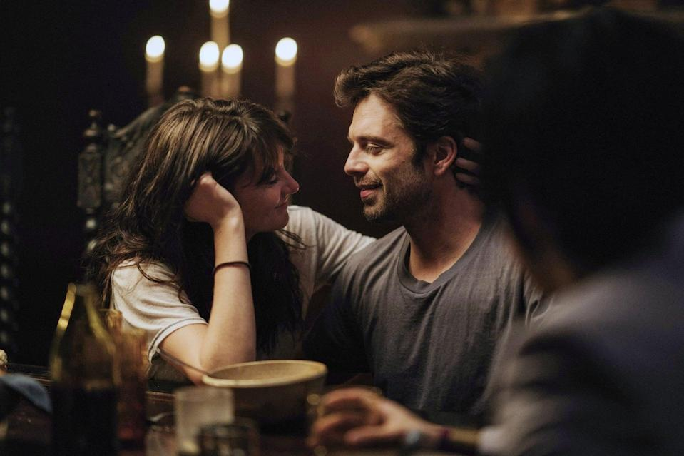 """<p>After breaking up with her long-term boyfriend and quitting her job, Daphne (Shailene Woodley) swears off men and dating. But when she meets two handsome best friends at a party, she begins a love triangle that involves a lot of steamy sex. Sebastian Stan and <strong>Fifty Shades</strong>' Jamie Dornan also star in this, so looking at them is reason enough to watch.</p> <p>Watch <a href=""""https://play.hbomax.com/page/urn:hbo:page:GXzawdwwA9MJkwgEAAAMB:type:feature"""" class=""""link rapid-noclick-resp"""" rel=""""nofollow noopener"""" target=""""_blank"""" data-ylk=""""slk:Endings, Beginnings""""><strong>Endings, Beginnings</strong></a> on HBO Max now.</p>"""