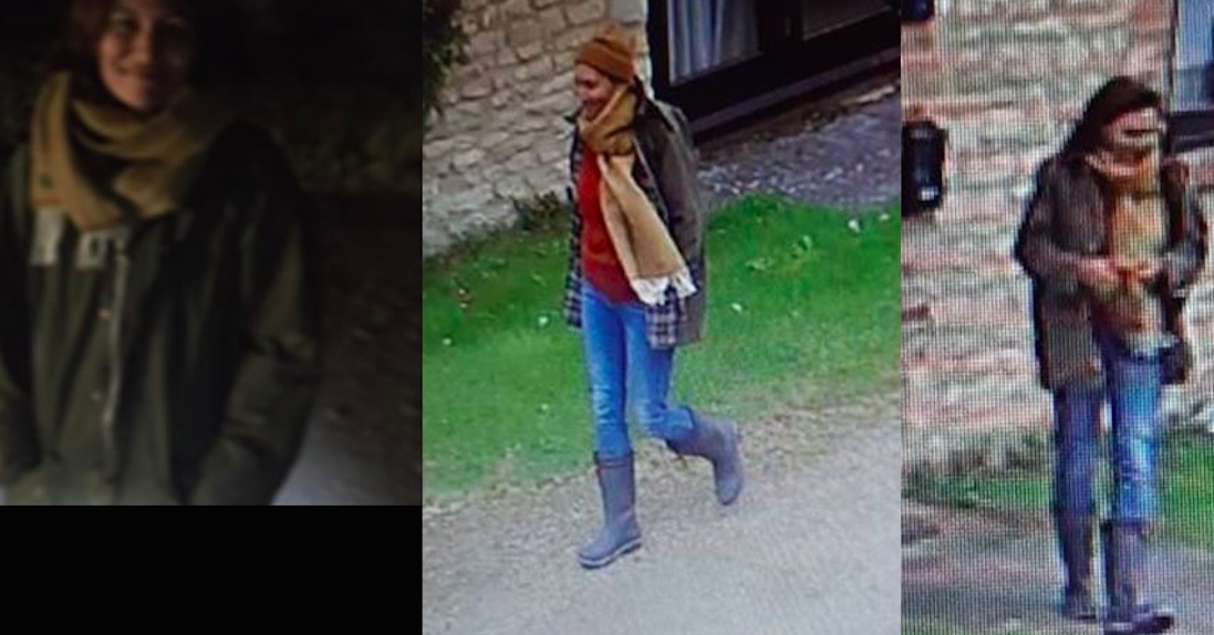 Police have released CCTV images of an unidentified woman who they believe was found dead in a lake in Oxfordshire. (Thames Valley Police)