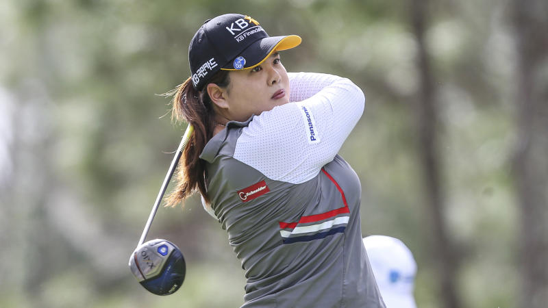 Inbee Park gains share of Women's Australian Open lead after 2nd round