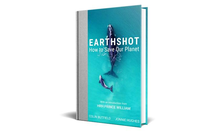 Cover of the Earthshot book - PA