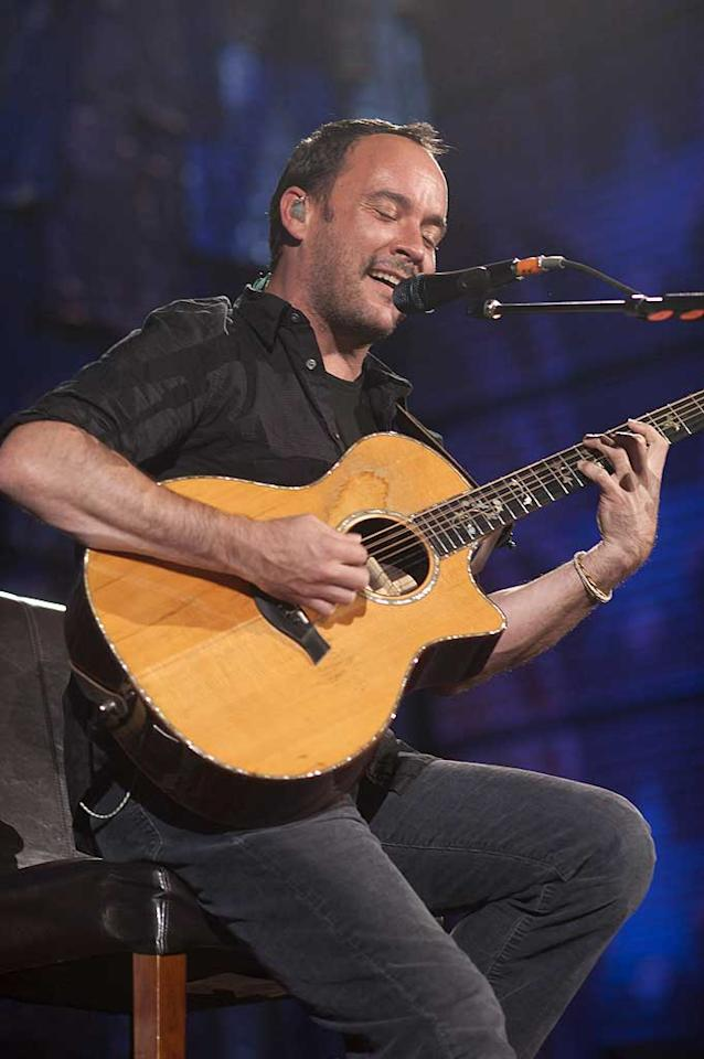 """January 9: Dave Matthews turns 44 Paul Natkin/<a href=""""http://www.wireimage.com"""" target=""""new"""">WireImage.com</a> - October 2, 2010"""