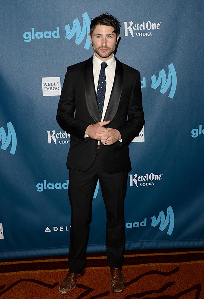 LOS ANGELES, CA - APRIL 20:  Actor Matt Dallas arrives at the 24th Annual GLAAD Media Awards presented by Ketel One and Wells Fargo at JW Marriott Los Angeles at L.A. LIVE on April 20, 2013 in Los Angeles, California.  (Photo by Jason Merritt/Getty Images for GLAAD)