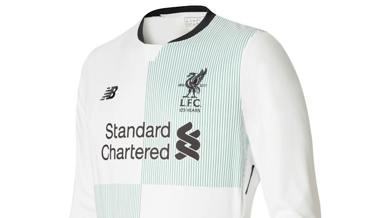 3fbf50e707d Liverpool unveil new away kit for 2017-18 campaign