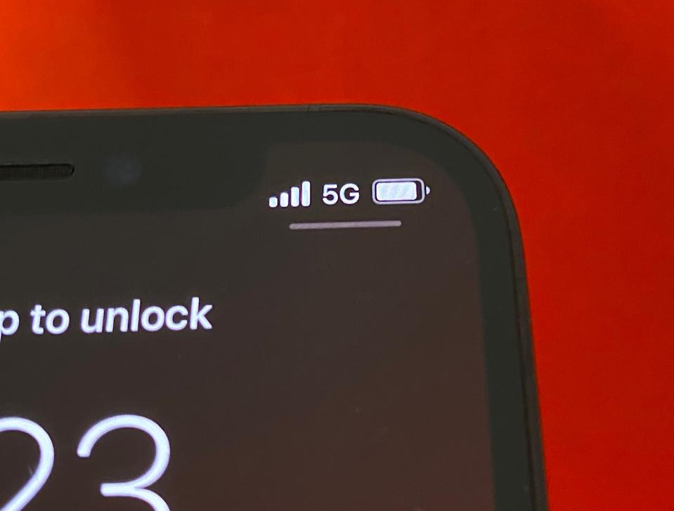 The iPhone 12 and iPhone 12 Pro both feature 5G technology, but the networks still aren't anywhere nears as fast as carriers have promised. (Image: Howley)