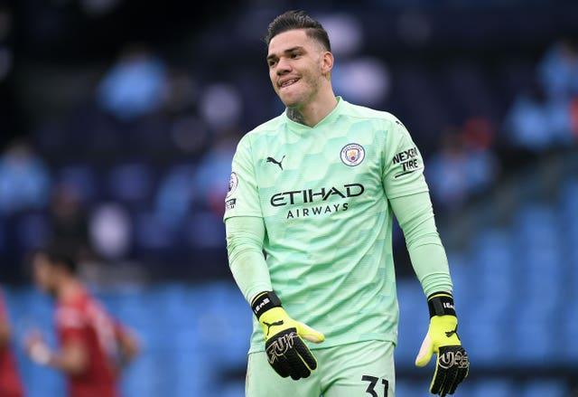 City goalkeeper Ederson gives his side an extra edge