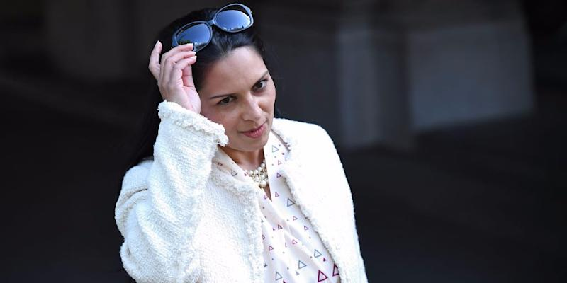 Priti Patel under question over Israel trip