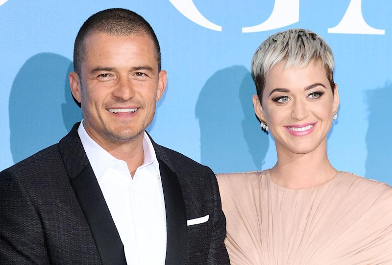 Orlando Bloom and Katy Perry reunited after a brief split in 2017.  (Photo: Daniele Venturelli via Getty Images)