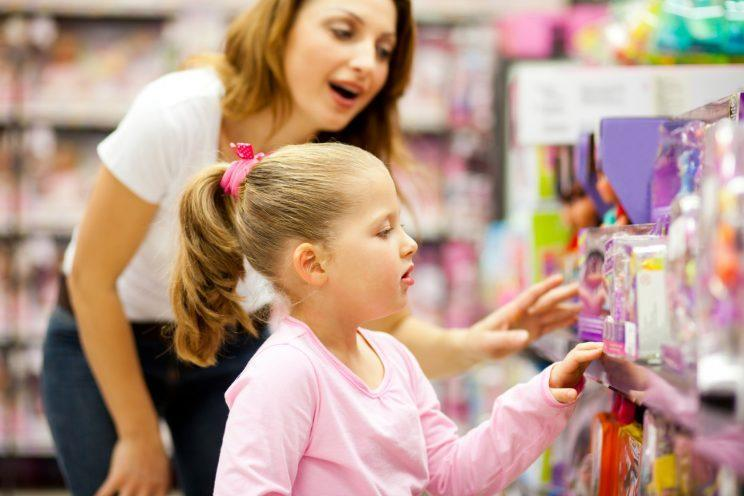 Is it time to put an end to gender segregation in the toy aisle? [Photo: Getty]