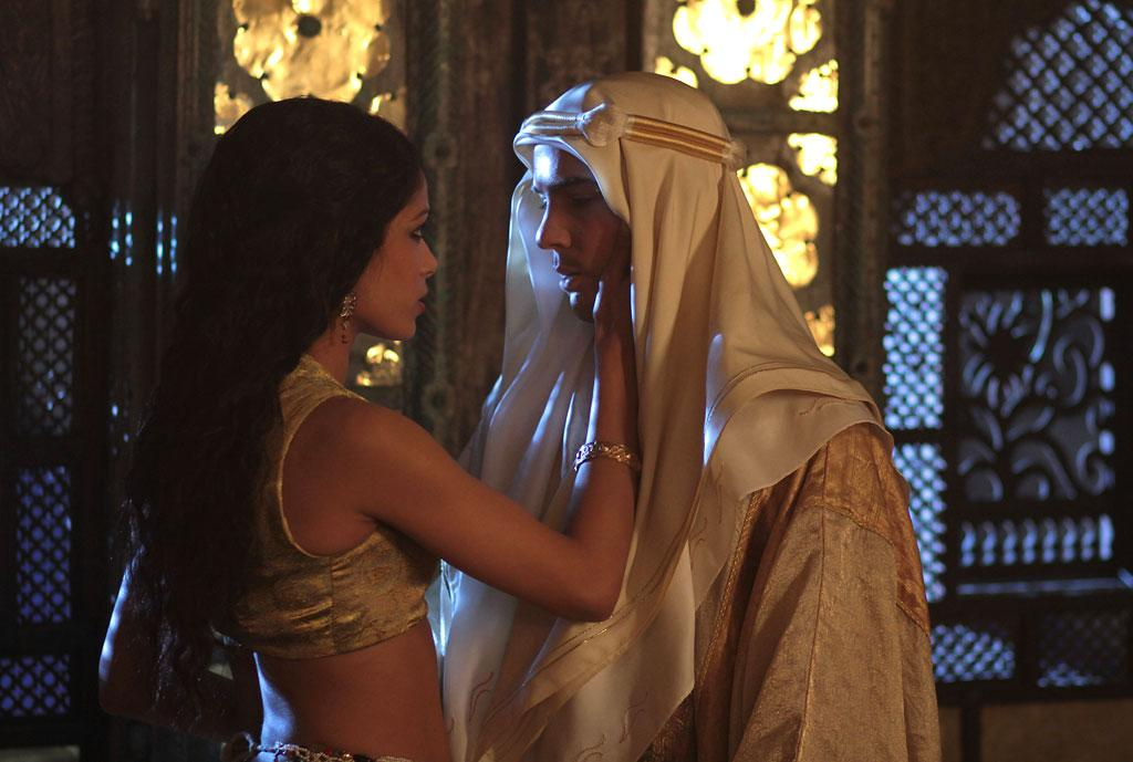 "Frieda Pinto and Tahar Rahim in Image Entertainment's ""Day of the Falcon"" - 2013"
