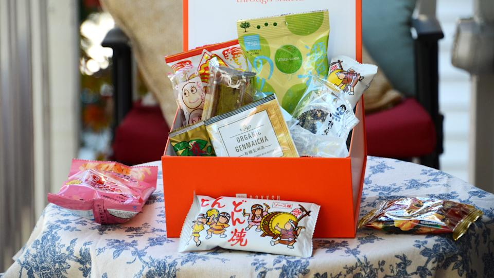 The best gifts for travelers: Bokksu Snacks from Japan subscription box