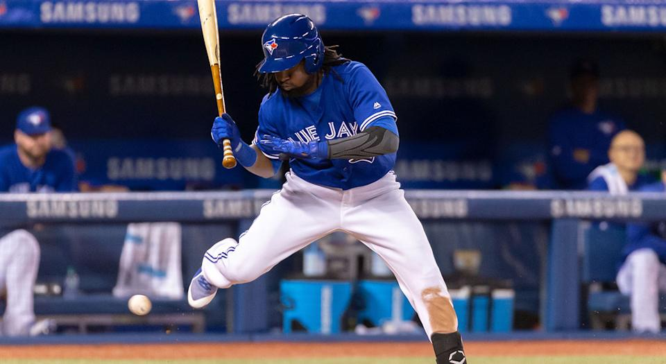 Alen Hanson's time with the Blue Jays was short and not particularly sweet. (Kevin Sousa-USA TODAY Sports)