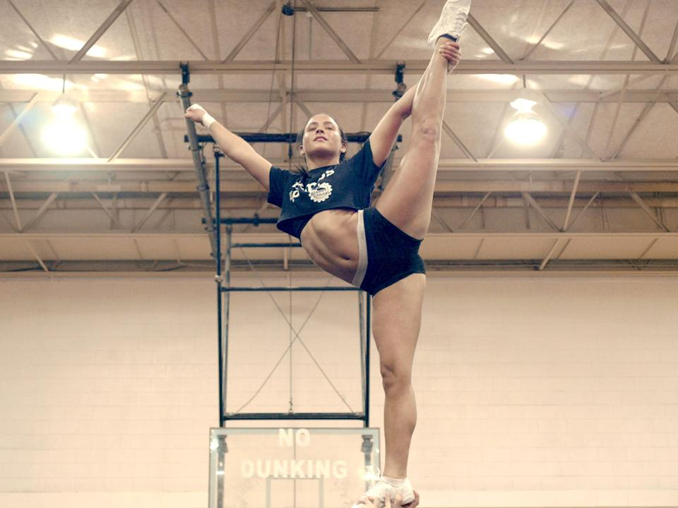 """""""From the team behind 'Last Chance U,' Netflix's documentary series 'Cheer' follows the competitive cheerleaders of Navarro College in Corsicana, TX."""""""