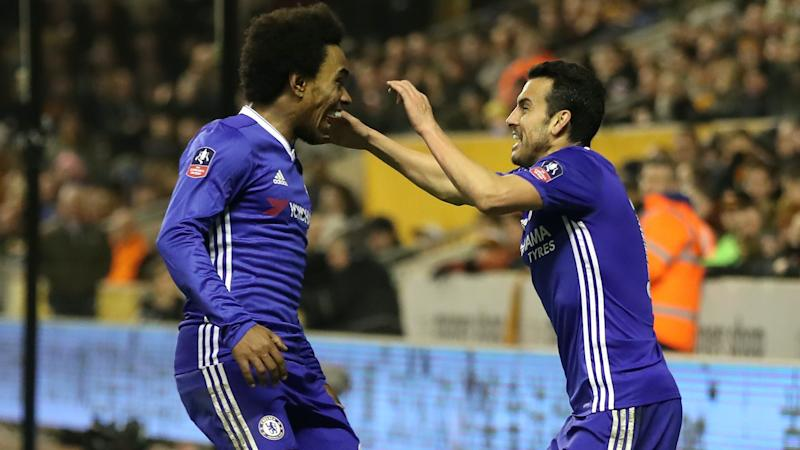 Willian and Pedro extend contracts at Chelsea