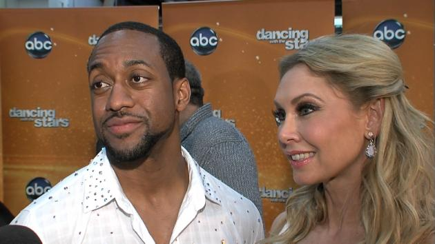 Jaleel White and Kym Johnson chat with Access Hollywood at 'Dancing with the Stars' on May 1, 2012 -- Access Hollywood