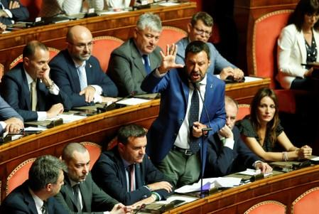 Italy's Salvini says citizen's income scheme needs reviewing: paper
