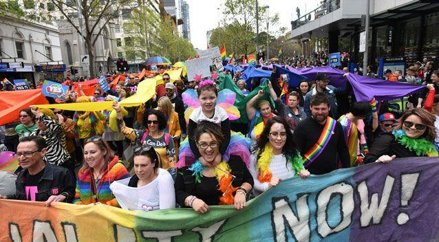 A new poll released just hours before the same sex marriage postal vote results has revealed the Yes vote has remained ahead. Photo: AAP