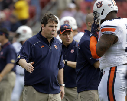 Will Auburn fare any better defensively with new coordinator Will Muschamp? (AP)