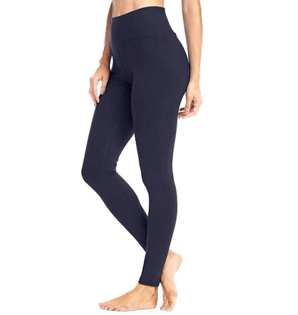 """<p><strong>Reviews & rating:</strong> 37,426 reviews, 4.3 out of 5 stars.</p> <p><strong>Key selling points:</strong> These leggings have nearly 40,000 customer reviews for a reason. They are soft, lightweight, breathable, flattering, and squat-proof, per the countless raving reviews. And at just $11, many customers have already bought second (and third) pairs.</p> <p><strong>What customers say:</strong> """"These are the best leggings ever! Keep in mind that these are thin, so I don't recommend for winter. But these are very high-quality and I've never felt more confident in leggings. Plus, they're great for working out."""" —<a href=""""https://amzn.to/3x9CXaW"""" rel=""""nofollow noopener"""" target=""""_blank"""" data-ylk=""""slk:Victoria"""" class=""""link rapid-noclick-resp""""><em>Victoria</em></a><em>, reviewer on Amazon</em></p> $8, Amazon. <a href=""""https://www.amazon.com/High-Waisted-Leggings-Women-Athletic/dp/B07K215JCJ/ref="""" rel=""""nofollow noopener"""" target=""""_blank"""" data-ylk=""""slk:Get it now!"""" class=""""link rapid-noclick-resp"""">Get it now!</a>"""