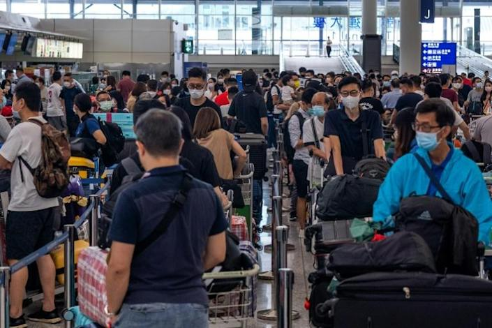 Anecdotal evidence shows that an exodus from Hong Kong is under way