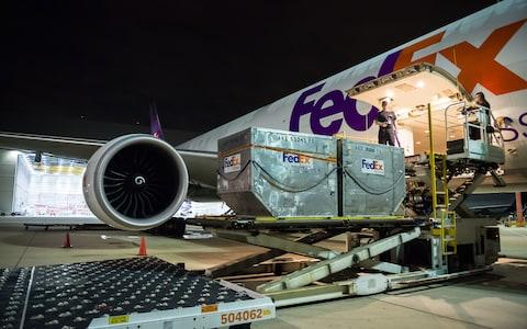 FedEx flies to more than 375 destinations around the world - Credit: fedex