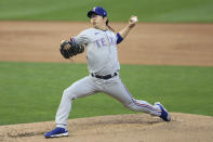 Texas Rangers pitcher Hyeon-Jong Yang (36) throws to a Minnesota Twins batter during the first inning of a baseball game Wednesday, May 5, 2021, in Minneapolis. (AP Photo/Stacy Bengs)