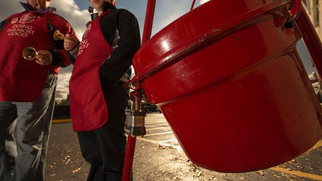 Wedding Ring Found in Salvation Army Donation Kettle
