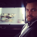 """Diane Kruger snapped a shot of her man before the night began. The caption read: """"On our way!!! Hot boyfriend alert!!"""" @dianekrugerperso/Instagram"""