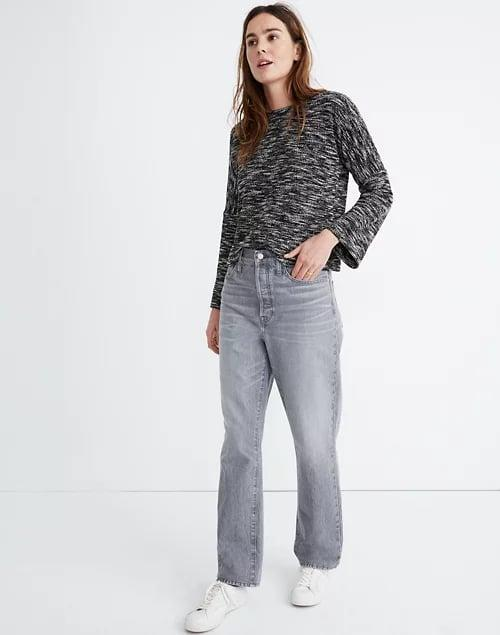 <p>Go gray with these cool-toned <span>Madewell The Dadjeans</span> ($118).</p>