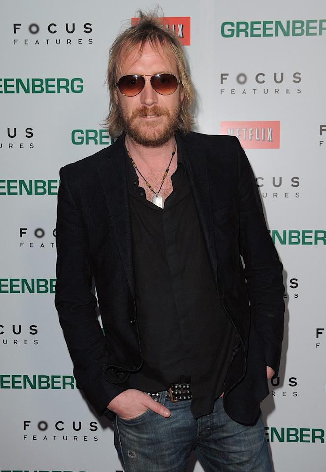 """<a href=""""http://movies.yahoo.com/movie/contributor/1800018838"""">Rhys Ifans</a> at the Los Angeles premiere of <a href=""""http://movies.yahoo.com/movie/1810076160/info"""">Greenberg</a> - 03/18/2010"""