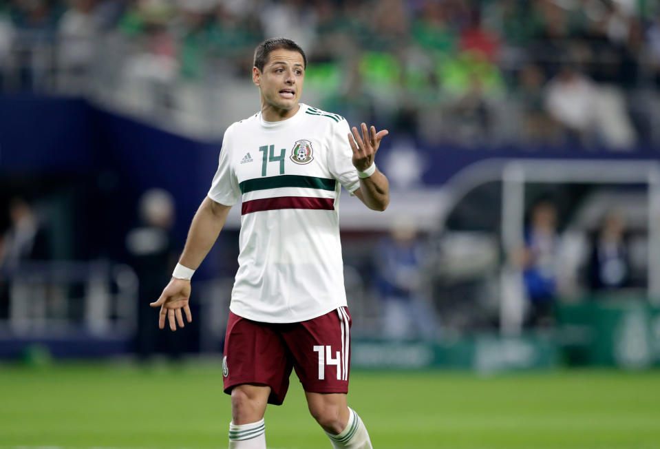 Javier Hernandez and Mexico have the talent to finally get over the Round of 16 hump. (AP)