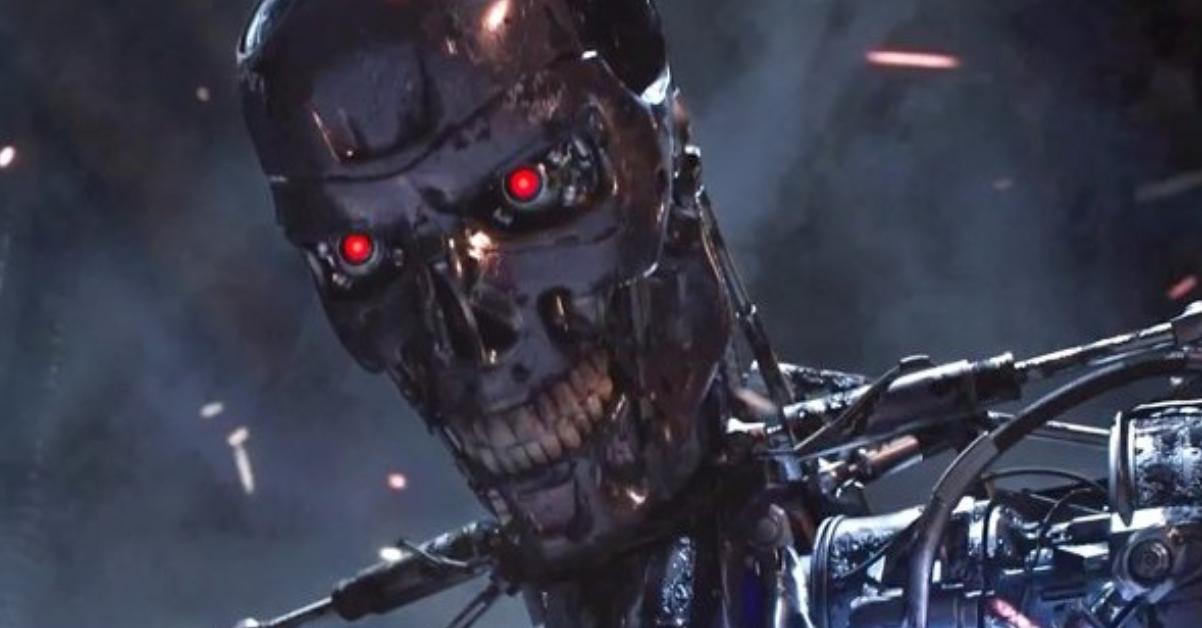 A still from Terminator: Dark Fate. Image: Paramount Pictures