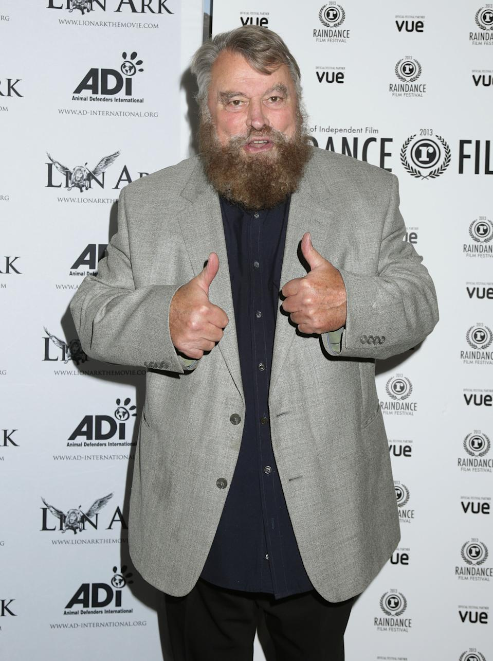 Brian Blessed attending the premiere of Lion Ark, at Vue Piccadilly in central London.