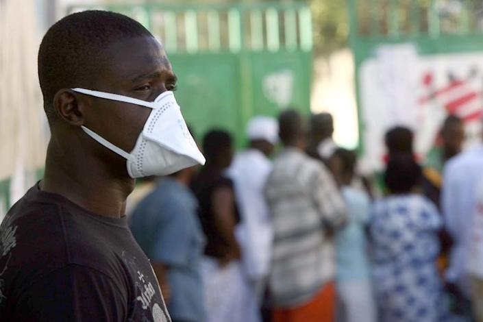 More than 8,800 people have died from cholera in Haiti since an outbreak that expert studies have shown was brought to the island by Nepalese troops (AFP Photo/Hector Retamal)