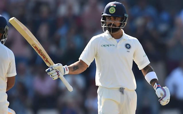 India's over-reliance on Virat Kohli was again laid bare in this Test - AFP
