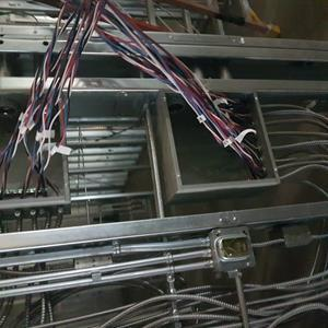 Fig 5 Interior electrical rough-in