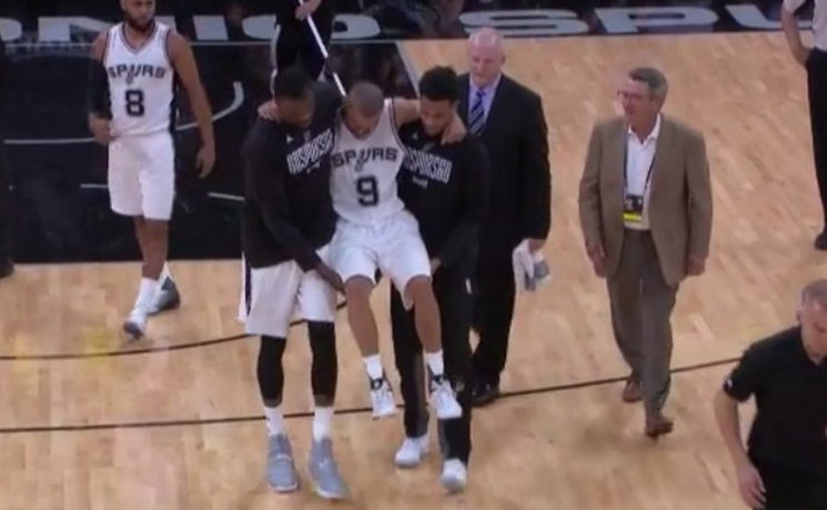 Spurs' Parker has torn tendon, out for playoffs