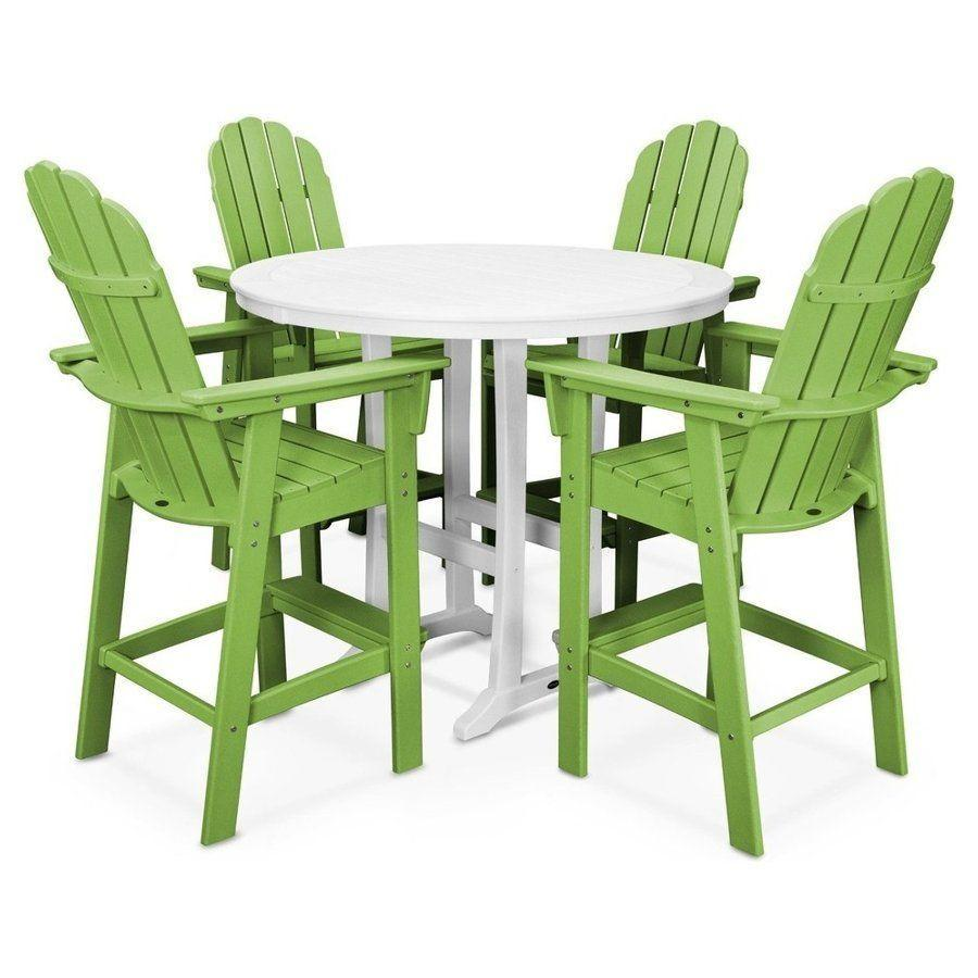 """<p><strong>Poly-Wood, LLC</strong></p><p>houzz.com</p><p><strong>$2749.00</strong></p><p><a href=""""https://go.redirectingat.com?id=74968X1596630&url=https%3A%2F%2Fwww.houzz.com%2Fproduct%2F115420679&sref=https%3A%2F%2Fwww.countryliving.com%2Fhome-design%2Fdecorating-ideas%2Fg28335824%2Fbest-adirondack-chair%2F"""" rel=""""nofollow noopener"""" target=""""_blank"""" data-ylk=""""slk:Shop Now"""" class=""""link rapid-noclick-resp"""">Shop Now</a></p><p>The perfect table and chair set for any back deck. Invite over some friends and rest comfortably while you sip <a href=""""https://www.countryliving.com/food-drinks/g1659/summer-drink-recipes/"""" rel=""""nofollow noopener"""" target=""""_blank"""" data-ylk=""""slk:margaritas"""" class=""""link rapid-noclick-resp"""">margaritas</a>. </p>"""