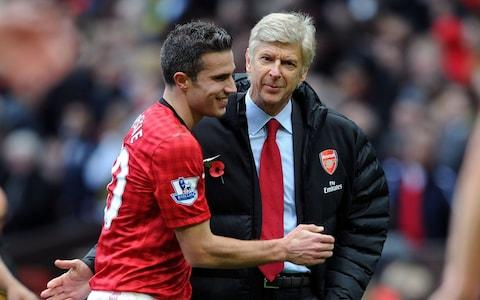 Robin van Persie was among those who left Arsenal to win trophies - Credit: Getty Images