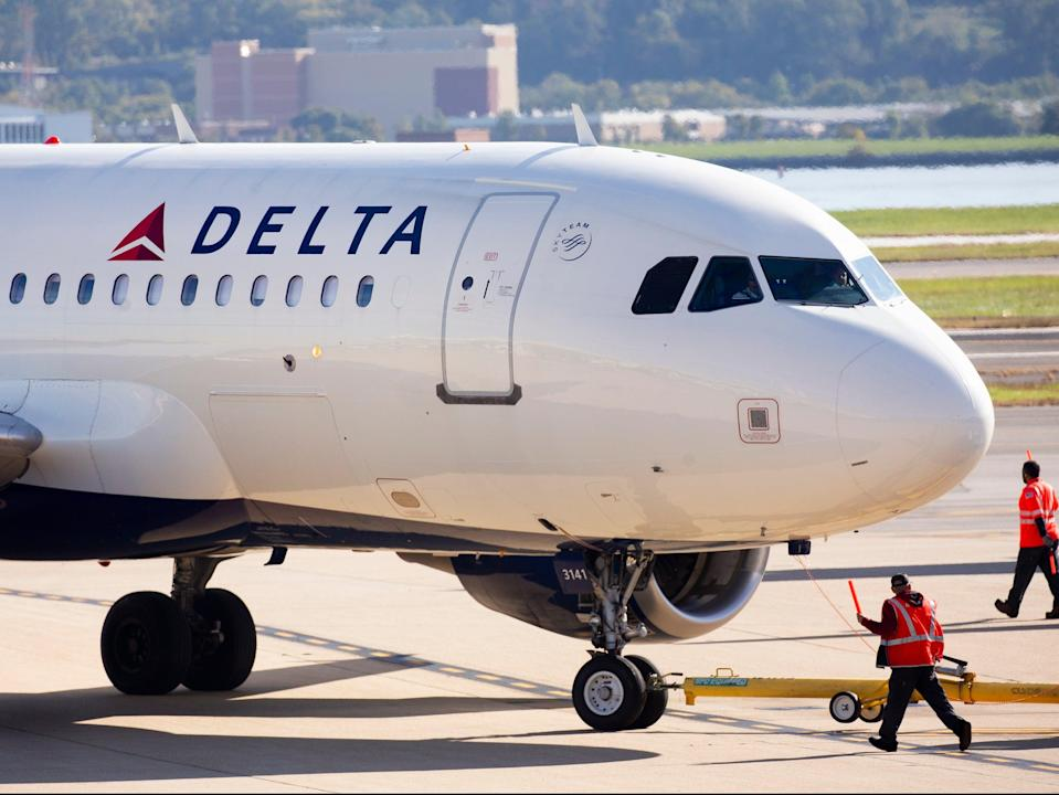 <p>Delta is partnering with the CDC</p> (EPA)