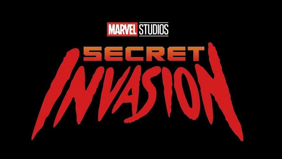 Marvel's Secret Invasion series logo