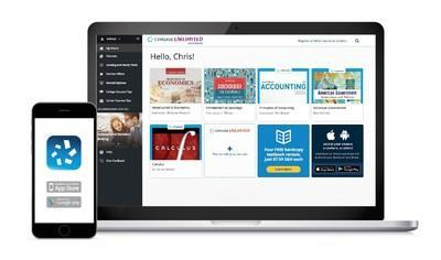 Cengage Unlimited eTextbooks gives students access to 14,000 eTextbooks, study tools, test prep and more for less than the average price of one print textbook.
