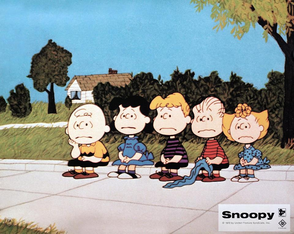 """<p><strong>Hulu's Description:</strong> """"This charming Peanuts feature centers around the world's most independent pooch. Snoopy leaves Charlie Brown to visit his former owner Lila in the hospital, then returns with her to her apartment house.""""</p> <p><span>Stream <strong>Snoopy Come Home</strong> on Hulu!</span></p>"""