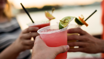 <p>Authentic margaritas from the Mexico pavilion fascinated audiences in '88. </p>