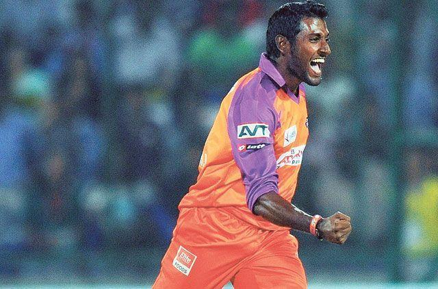 Prasanth Parmeswaran had conceded 37 runs in an over to Chris Gayle