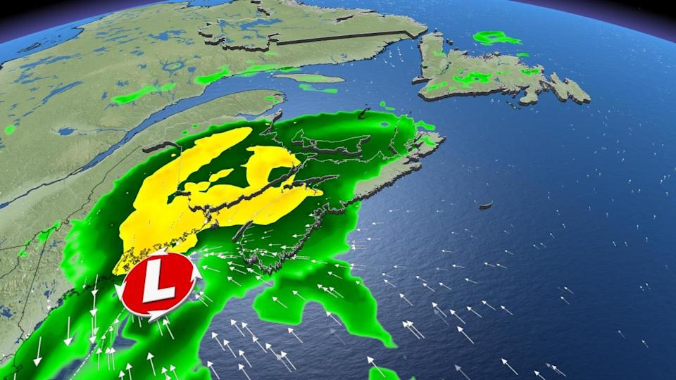 Remnants of Ida to have an impact on Atlantic Canada, heavy downpours ahead