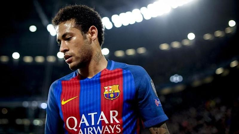 Are Barcelona discussing terms of Neymar